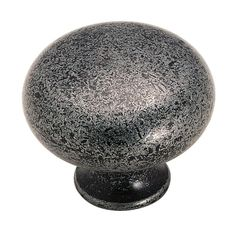 Amerock Traditional Classics 1-1/4 in. Wrought Iron Cabinet Knob