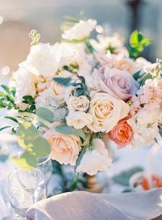 Floral Design: Peony & Plum - http://peonyandplum.com Venue: Malibu Rocky Oaks - http://www.stylemepretty.com/portfolio/malibu-rocky-oaks Event Planning: CCL Weddings & Events - http://www.stylemepretty.com/portfolio/christina-lee   Read More on SMP: http://www.stylemepretty.com/2016/06/28/a-stunning-mountaintop-wedding-with-a-meaningful-details/