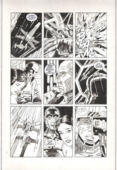Star Wars A New Hope Special Edition Adaptation #4 pg. 18 by Eduardo Barreto, Al Williamson & Carlos Garzon (Dark Horse 1997) Comic Art