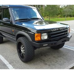 Winch Bumper with LED Lights by Rovers North for Discovery II, RNA2106, TF009A - Rovers North - Classic Land Rover Parts