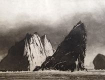 The Zillah Bell Gallery has the largest collection of Norman Ackroyd CBE RA& work outside his studio. Please do come in to see his incredible work. Illustrations, Illustration Art, Norman Ackroyd, Art Graphique, Beautiful Artwork, Landscape Art, Artist At Work, Dark Art, Light In The Dark