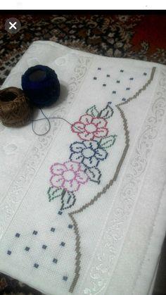 Cross Stitch Boarders, Cross Stitch Designs, Cross Stitch Patterns, Crochet Double, Easy Crochet, Free Crochet, Crochet Ideas, Slip Stitch Crochet, Crochet Stitches