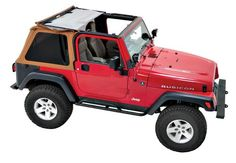 Pavement Ends by Bestop 5684037 Spice Frameless Sprint Top for Jeep Wrangler