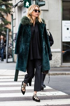 The Best Street Style from Milan Fashion Week Fall 2016 - February 2016