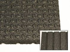 Model - x x Revulcanized Rubber Mat - Bi-directional ellipse pattern surface - Computer cut edges ensure mats are straight, square and consistently sized for best fit when installed Crossfit Gym, Rubber Mat, Flooring, Model, Pattern, Scale Model, Patterns