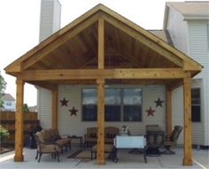 Outdoor Patio Designs The Covered Patio Has A 20 215 20