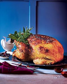 Unwrapping this parcel-baked Christmas turkey to reveal all of its succulent juices is a great gift for you and your family all to share.