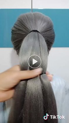 Elmabblythe on tiktok. elmabblythe has just created an awesome short video with original sound - 30815548250 Work Hairstyles, Braided Hairstyles, Popular Hairstyles, Pretty Hairstyles, Pinterest Hair, Hair Videos, Hair Designs, Hair Hacks, Hair And Nails