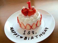 一歳の誕生日に、息子が食べれる離乳食ケーキを♪ - 182件のもぐもぐ - 離乳食バースデーケーキ♡ by あや