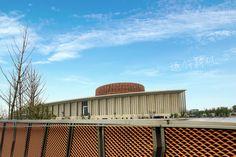 Expanded Metal Mesh, Metal Facade, Mesh Fencing, Metal Ceiling, Fence, Opera House, Building, Metal Roof, Buildings