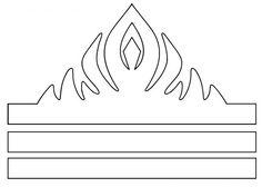 pdf couronne reine des neiges blanche