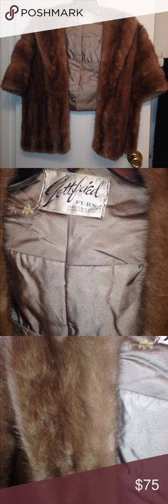 Vintage gottfried fur mink stole Euc 1950s Vintage gottfried fur mink stole Euc 1950s. Beautiful. Please contact me with any questions Jackets & Coats