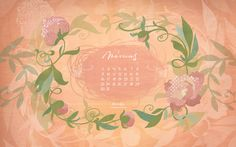 wallpaper_2015_march_1920_x_1200 Monet, My Works, March, Wallpaper, Blog, Illustrations, Wall Papers, Illustration, Tapestries