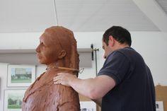 Obra do escultor Rogério Timóteo