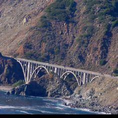 San Simeon coast. California