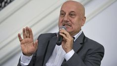Newly-appointed Film and Television Institute of India (FTII) Chairperson Anupam Kher on Monday visited the campus of the iconic institution unann Bollywood Stars, Bollywood News, Anupam Kher, National School, Lifestyle News, Hrithik Roshan, Political News, Awards, Suit Jacket