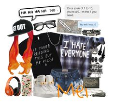 """""""Untitled #25 // THRICE's Mei"""" by minyxxngi ❤ liked on Polyvore featuring Reverse, BUSCEMI, Casetify, Beats by Dr. Dre, Jaeci, Sterling Essentials, Hush, ASOS, Bling Jewelry and Noir"""