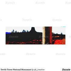 Devils Tower National Monument Panel Wall Art