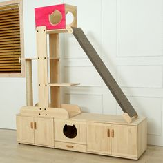 cat tower and storage