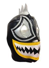 ACQUAMAN Lucha Libre Wrestling Mask (pro-fit) Black