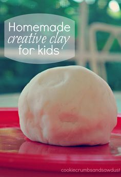 Cookie Crumbs & Sawdust: creative clay