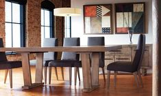 Shop for Dinec Dining Room Set, Jean, and other Dining Tables at Upper Room Home Furnishings in Ottawa, Ontario. Dining Room Buffet, Dining Room Chairs, Dining Room Furniture, Furniture Decor, Accent Furniture, Dining Tables, Table Top Design, Beautiful Dining Rooms, Solid Wood Furniture