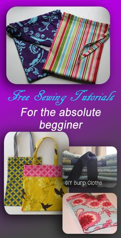 sewing projects for the absolute begginer