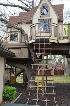 La casita del árbol más increible del mundo: