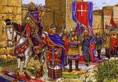 Emperor Manuel I forces Reginald, Norman Prince of Antioch, to Acknowledge his suzerainty, 1159