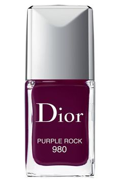 Free shipping and returns on Dior 'Vernis' Gel Shine & Long Wear Nail Lacquer at Nordstrom.com. Dior Vernis Gel Shine and Long Wear Nail Lacquer is the first couture gel-effect nail polish, featuring an advanced formula that provides you with glass-like shine and extended wear. Each shade is created with special pigments that give off vibrant, intense color and a new precision brush that provides the perfect amount of polish in a single sweep. The Nail Lacquer is easily removed with nail pol...