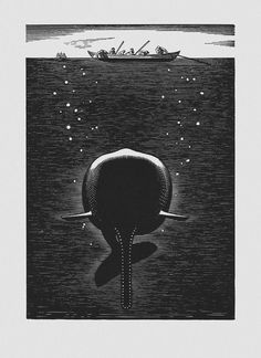 Rockwell Kent (1882-1971гг). Иллюстрации к «Моби Дику» Германа Мелвилла - Музей рисунка