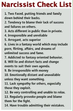 A narcissist will have some, but not necessarily all, of these traits. Narcissistic Personality Disorder It is believed that narcissism is an attitude which is present in every individual and is . Narcissistic abuse hurts we can heal Narcissistic People, Narcissistic Behavior, Narcissistic Sociopath, Narcissistic Personality Disorder, Narcissistic Supply, Sociopath Traits, Npd Disorder, Characteristics Of A Narcissist, Wise Words