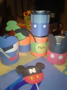 Mickey Mouse Clubhouse friends infant formula can party favors by gueritamazchula