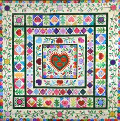 Quilters' Guild of Arlington |Donation Quilt 2015 Adapted from a Kim McLean pattern