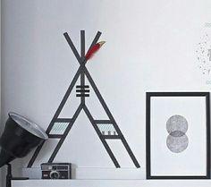ideeen washi tape op muur kids - Google zoeken