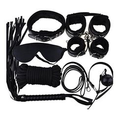 #lingeriesets Bepety Bondage Kit Set Restraints Handcuffs Rope Mask Collar Whips Ball Blindfolds: At this time you happen to be… #lingerie
