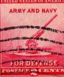 "1940 National Defense Issue-Gun 2 Cents Stamp (#900) . $5.75. 1940 ""National Defense Issue - Gun"" 2 Cents Stamp (#900)."