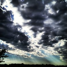 Angry Skies....