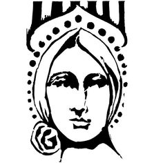 Beatrice Cling Mount Stamp by Pam Carriker - Stampington