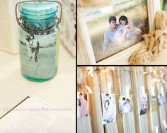 Pictures in mason jars and other cute DIY ideas