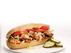 Get this all-star, easy-to-follow Blackened Shrimp Po'Boys recipe from Food Network Kitchen