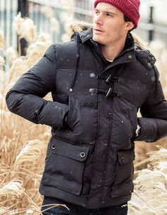 This combo duffel/puffer coat is perfect.
