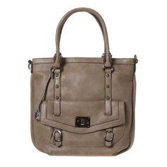 Brown Shoulder Bag Brown shoulder bag by Edina Ronay with twin handles a05ad4e7523fc