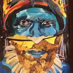 Papou one 62x80 Collage sur bois Ko