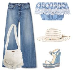 """""""Summer Date: The State Fair"""" by yours-styling-best-friend ❤ liked on Polyvore featuring Topshop, Fat Face, Miguelina, Christian Louboutin and Billabong"""