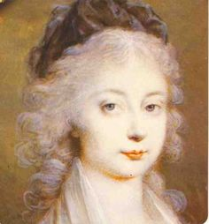 Madame Royale Princess Marie-Therese-Charlotte of France, Duchess of Angouleme - only surviving child of Marie Antoinette & Louis XVI. She spent 3 1/2 yrs in Temple Prison during the Revolution