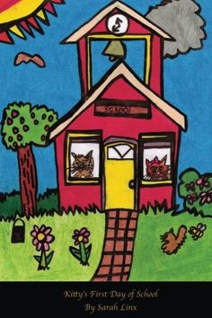 #children #reader #books Kitty's First Day of School by Sarah Linx