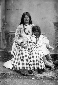 Ta-ayz-slath, wife of Geronimo, and one child. This Day in History: Sep 4, 1886: Geronimo surrenders