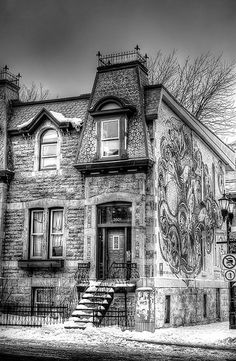Old House and I love the skull on the side. So perfect