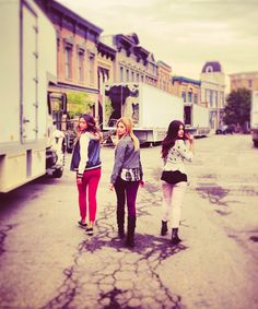 Pretty Little Liars: Shay Mitchell, Ashley Benson, and Lucy Hale.